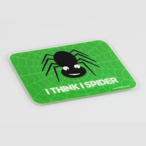 "HELD4YOU - Klebematte im Design ""I think I Spider"""