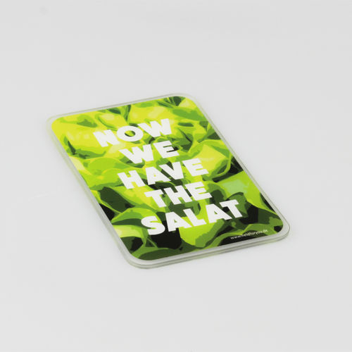 "HELD4YOU - Klebematte im Design ""Now we have the salat"""