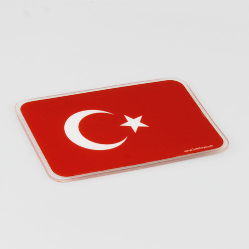 "HELD4YOU - Klebematte im Design ""Flagge Türkei"""