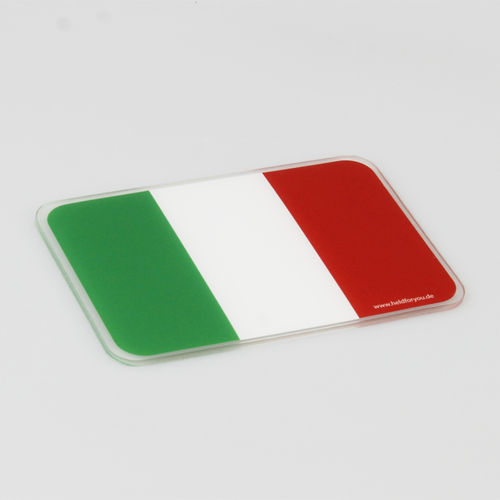 "HELD4YOU - Klebematte im Design ""Flagge Italien"""