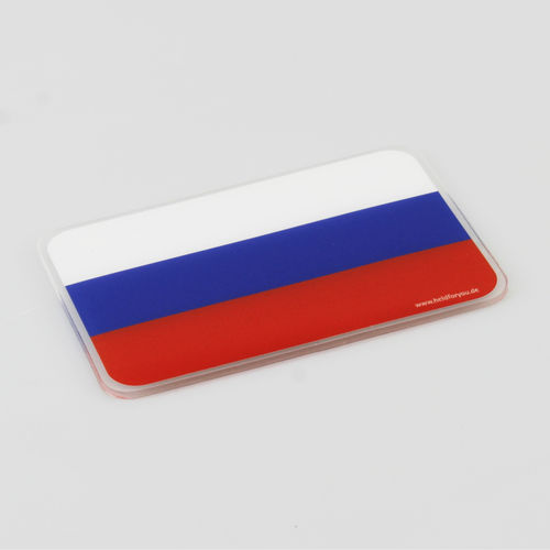 "HELD4YOU - Klebematte im Design ""Flagge Russland"""